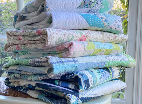 More ways than one to bind a quilt - Creating binding strips