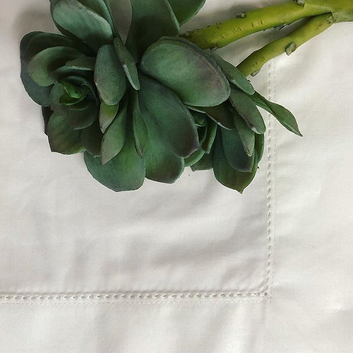 Hemstitched & Monogrammed Table Linen