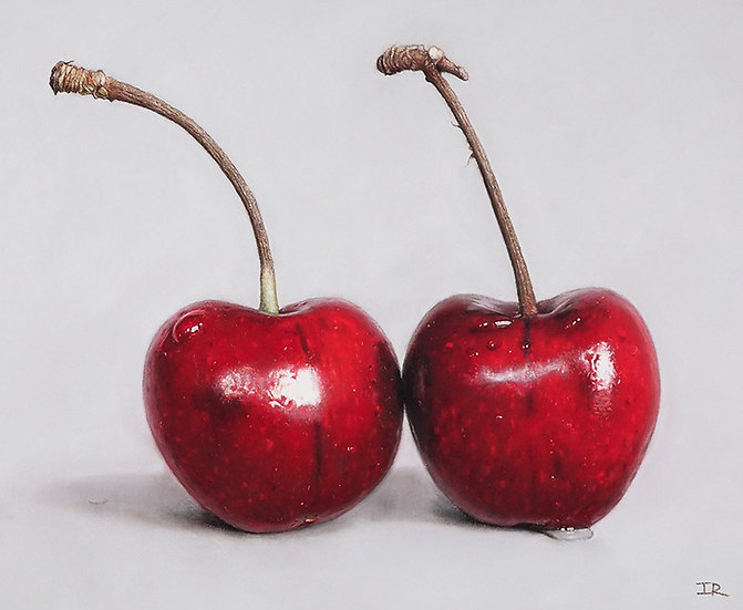 TWO RED CHERRIES