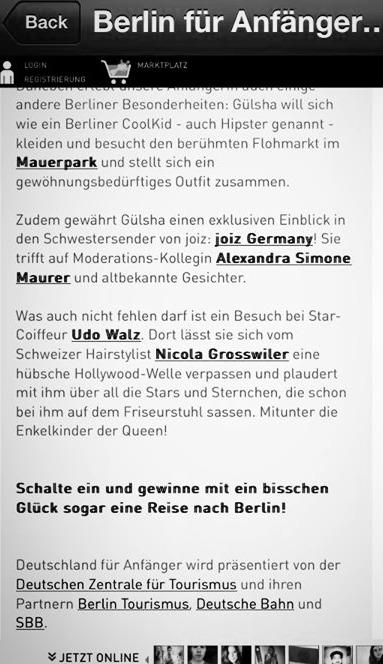 TV SHOW BERLIN FÜR ANFÄNGER