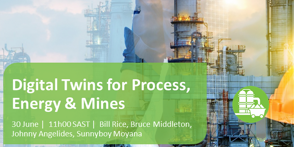 Digital Twins for Mines, Energy & Process Plants
