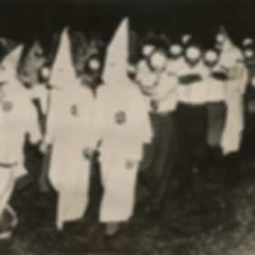 Ku Klux Klan initiation at Stone Mountai