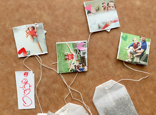 Easy Art Project and Tea Time Date Activity