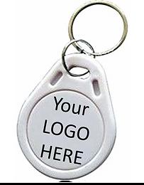 """Custom """"Logo"""" Business Keychain"""