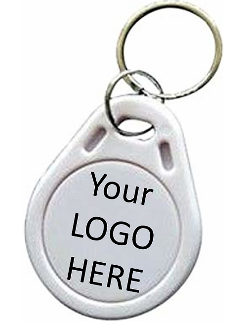 "Custom ""Logo"" Business Keychain"