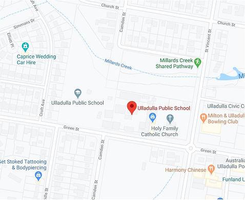Ulladulla Google Map.JPG