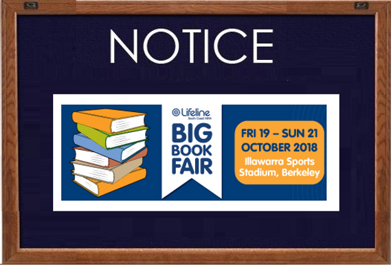 Help us support Lifeline Big Book Fair