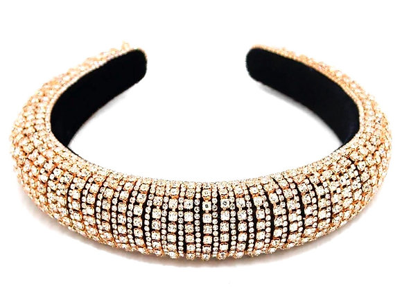 Gold Colour Rhinestone Headband
