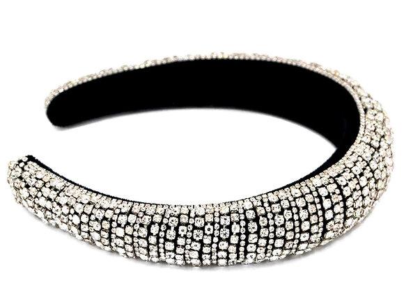 Silver Colour Rhinestone Headband