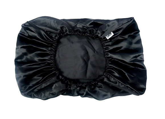 Satin Pillow Cover - Black