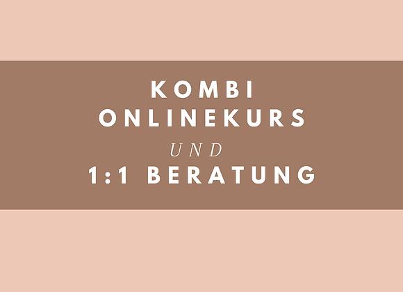 Kombi Onlinekurs + 1:1 Beratung