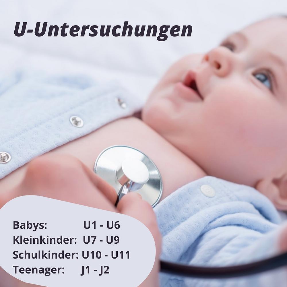Vorsorgeuntersuchungen für Babys und Kinder