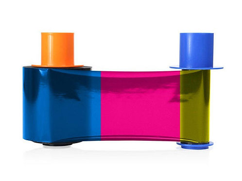 HID Fargo YMCKO Colour Ribbon (45200) - 500 Prints