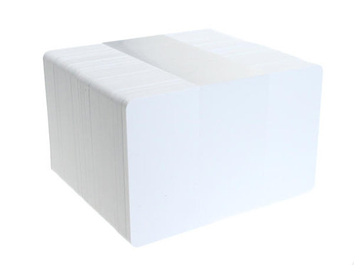 Blank White Printable PVC Cards - Pack of 100