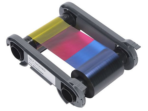 Evolis YMCKOKO Half Panel Colour Ribbon (R7H006NAA) - 250 Prints
