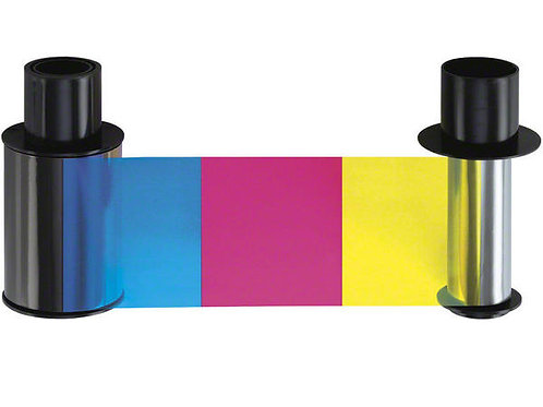 HID Fargo YMCKO-K Colour Ribbon (45110) - 200 Prints