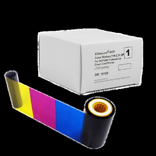 Matica DCP360 YMCKOPK Colour Ribbon (DIC10194) - 600 Prints