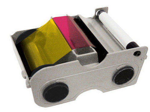 HID Fargo YMCKO Colour Ribbon (45010) - 200 Prints
