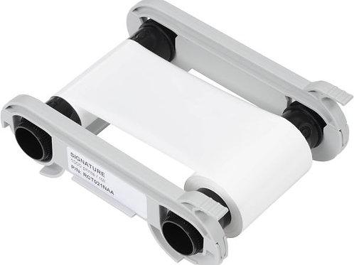 Evolis White Signature Monochrome Ribbon (RCT021NAA) - 1000 Prints
