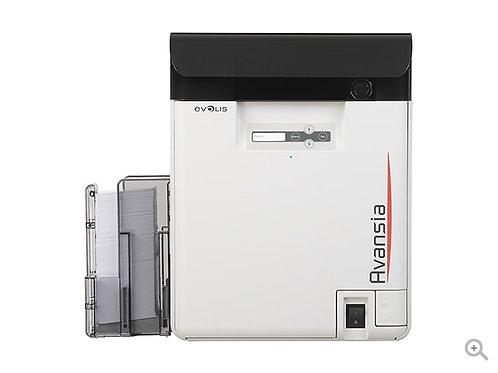 Evolis Avansia Retransfer Card Printer with Mag Encoder / Dual Sided