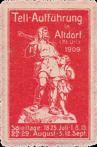 1909 Briefmarke rot.png