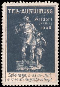 1905 Briefmarke blau.png