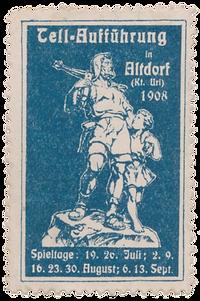 1908 Briefmarke Blau.png