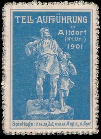 1901 Briefmarke blau.png