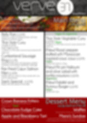 PAGE 4 Main Menu off the grill Spring 20