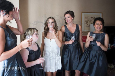 Distillery District Wedding Makeup Artist Candace French