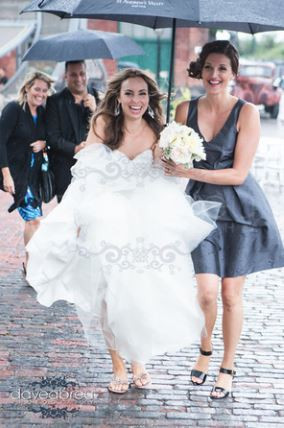 Wedding Hair Stylist Candace French Distillery District Toronto