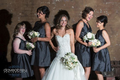 Bridal Hair Stylist Candace French Distillery District Toronto