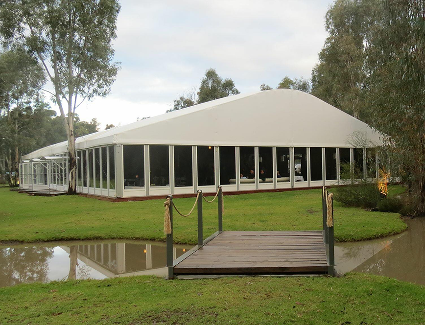 wedding conference or event centre overlooking a lake in echuca