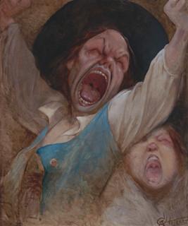 Alfred Choubrac,  Les cris de la révolte vers 1890