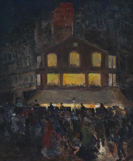 Louis Abel-truchet - Grands boulevards, vers 1890