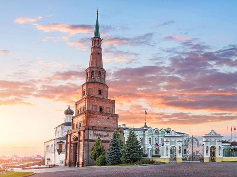 Казанский Кремль и улица Баумана