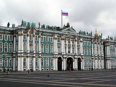 Петергоф и Зимний дворец.jpg