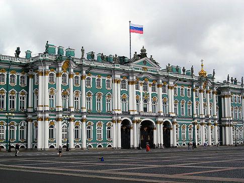 Петергоф и Зимний дворец