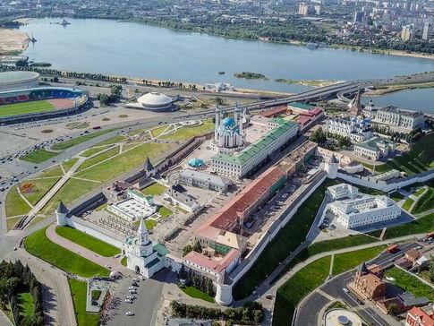 Большая обзорная экскурсия по Казани с посещением Кремля