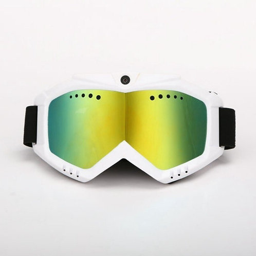 1080P HD Camera with Ski Sunglass Goggles with