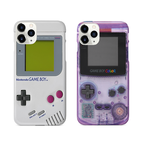 Retro Nintndo Gamboy iPhone & Samsung Case (no buttons)