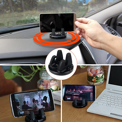 Universal Car Holder Rotatable Soft Silicone Anti