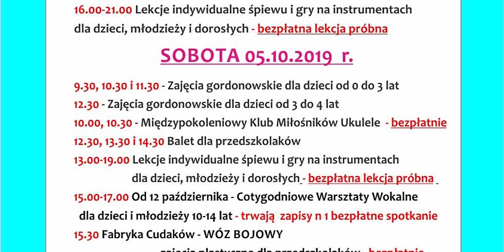 Weekend w  Nutka Café  zapraszamy 4-6.10.2019 r.