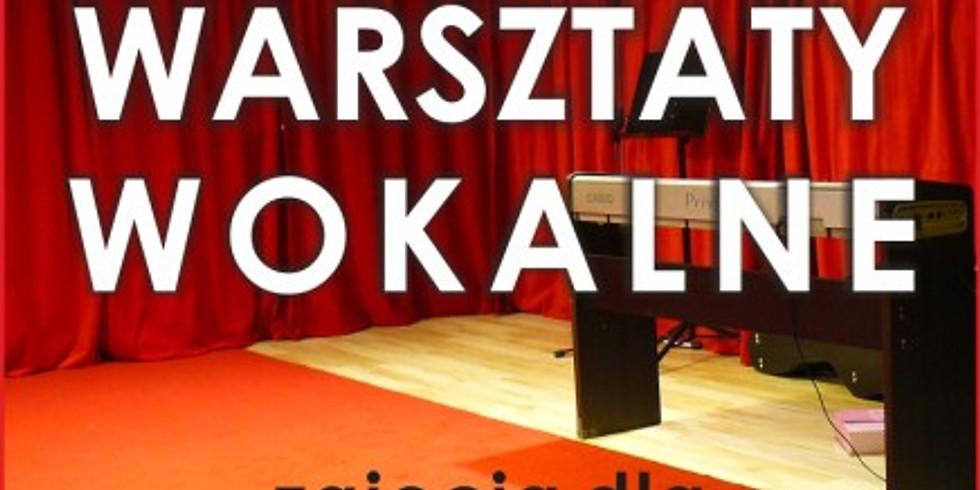 Cotygodniowe Warsztataty Wokalne - zapraszamy dorosłych i młodzież
