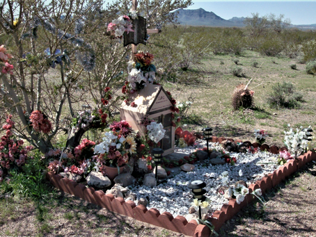 Roadside Memorials:  A Reminder of the Last Breath