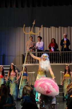 King Triton and Mermaids