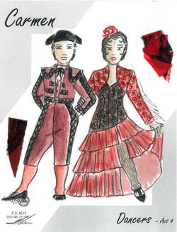 Carmen Dancers