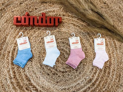 Condor- Newborn sokken met patroon