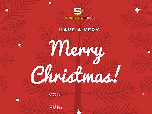Merry Christmas - Gutschein