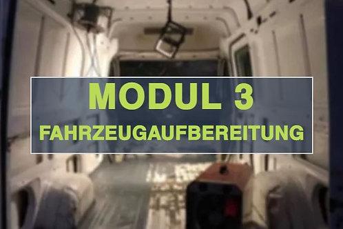 Modul 3 - Fahrzeugaufbereitung